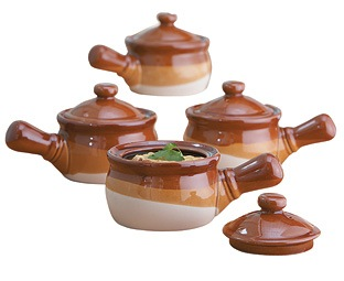 Mini Soup Tureens (set of 4)