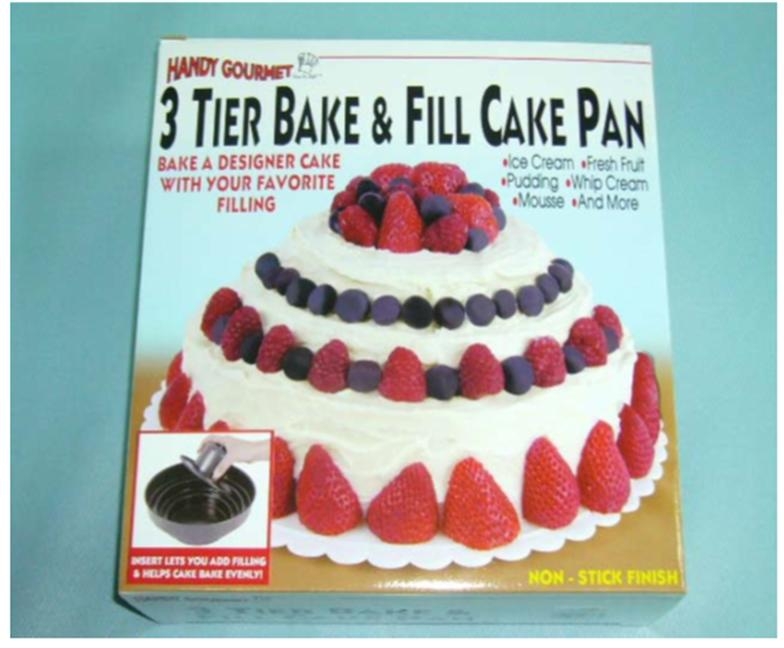 How High To Fill A Cake Tin