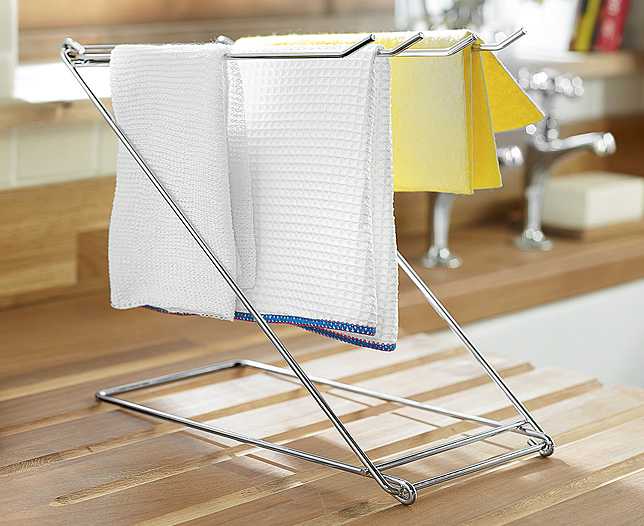 Folding Dishcloth Rack