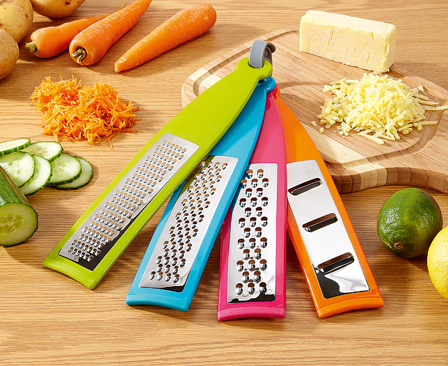 Set of 4 Stick Graters