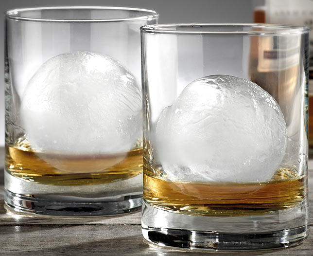 Sphere Shaped Ice Mould Set of 2