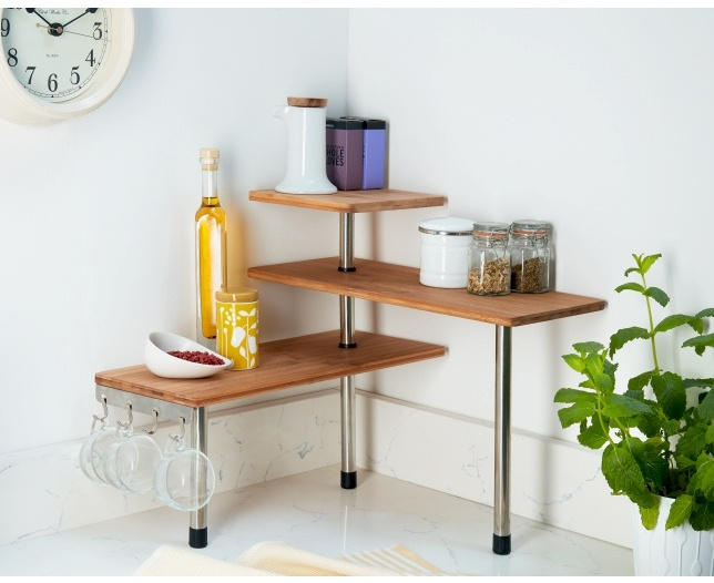 Corner Kitchen Etagere