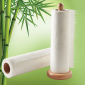 Bamboo Towel Rolls (Pack of 2)