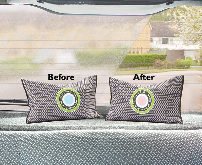 Car Dehumidifier with Indicator Set of 2