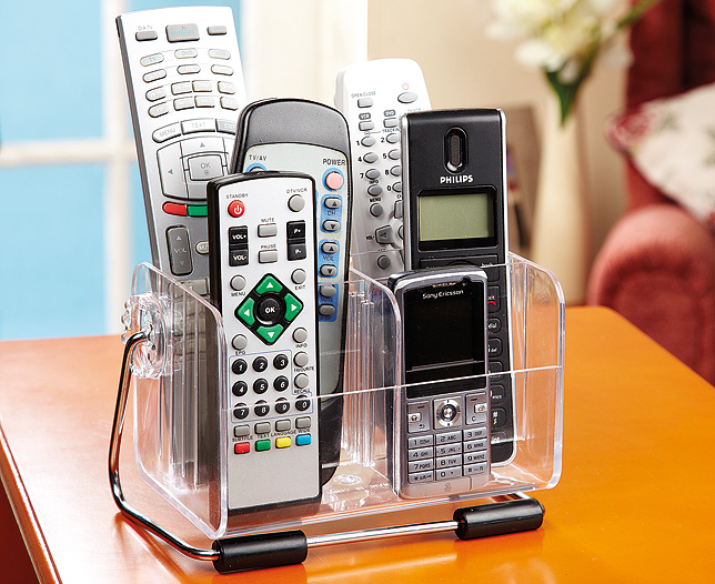 Clear Mobile & Remote Holder