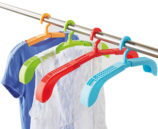 Adjustable Drying Hangers Set of 4