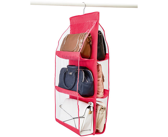 6 Pockets Handbag Organiser