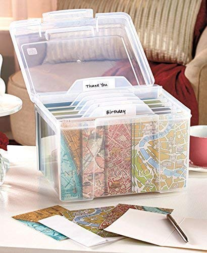 Greeting Card Organiser with Dividers