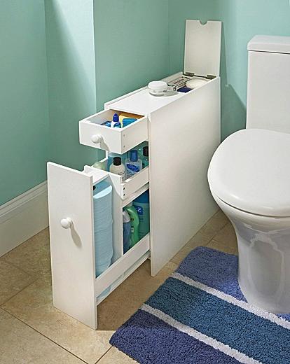 S S Slimline Bathroom Organiser
