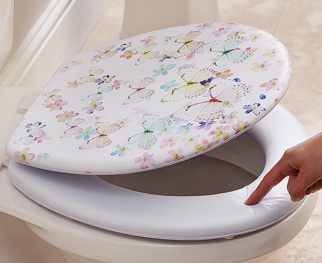 Butterfly Soft Toilet Seat