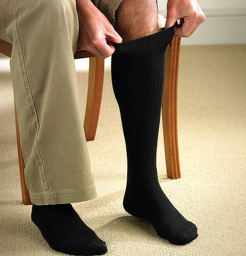 Extra-Long Merino Socks