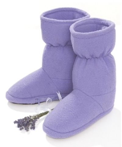Cosy Lavender Microwave Booties