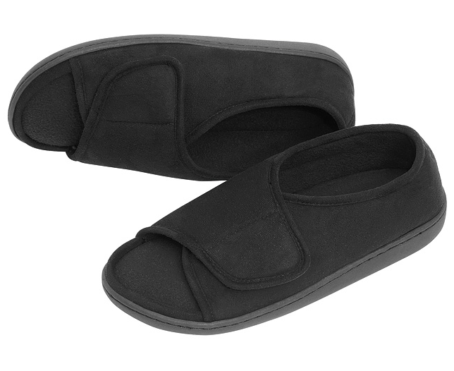 Ladies Top Velcro Closing Slippers