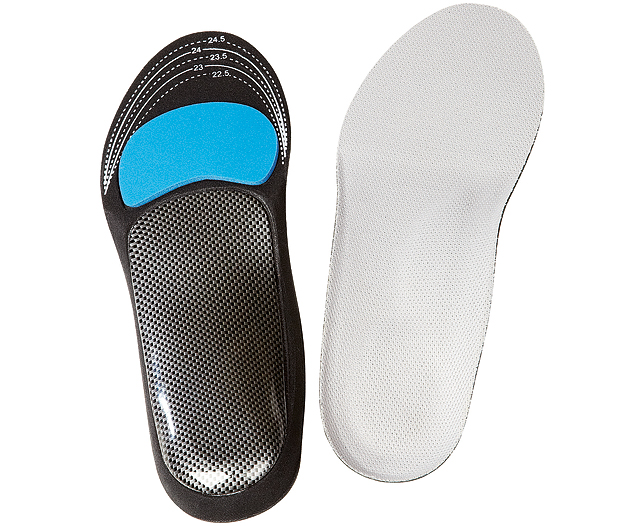 Insoles with Foot Supports