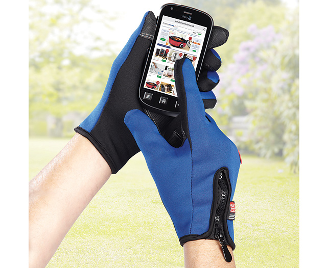 Windproof Touchscreen Gloves Large