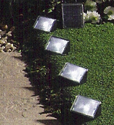 Solar Step Path Markers