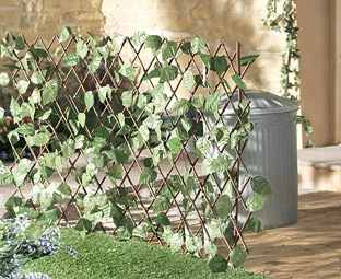 Extending Fence with Leaves