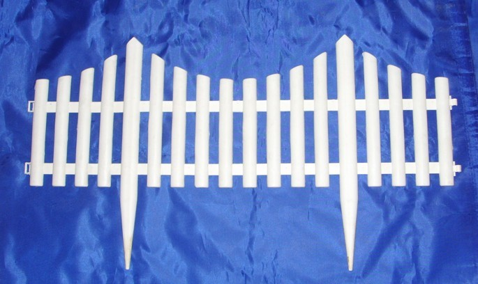 Mini White Picket Fence (Set of 4)