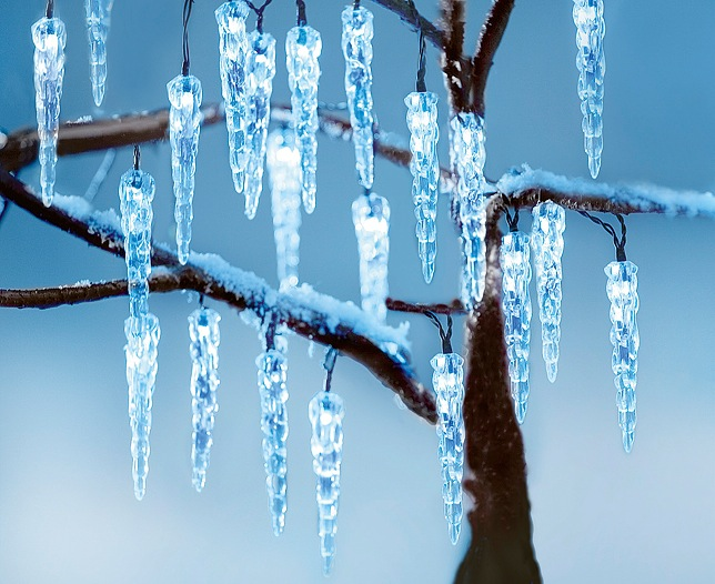 Solar Icicle String Light