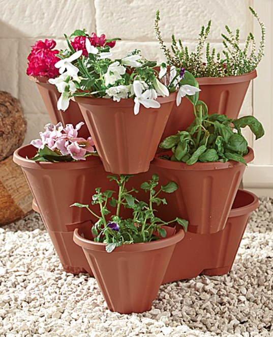 Stackable Planter Set of 3