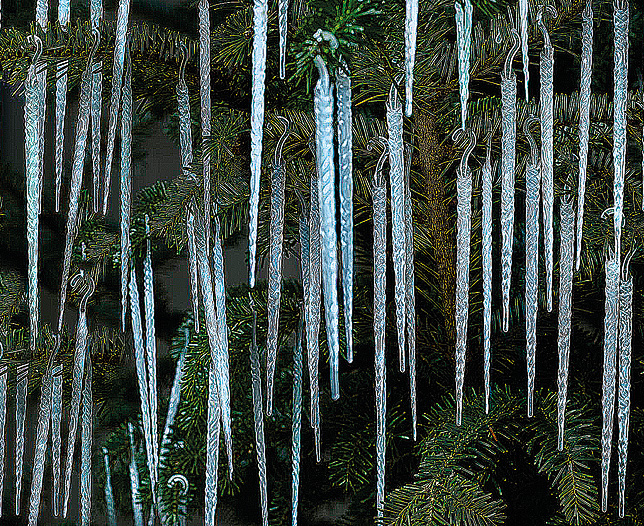 GID Icicles Set of 100