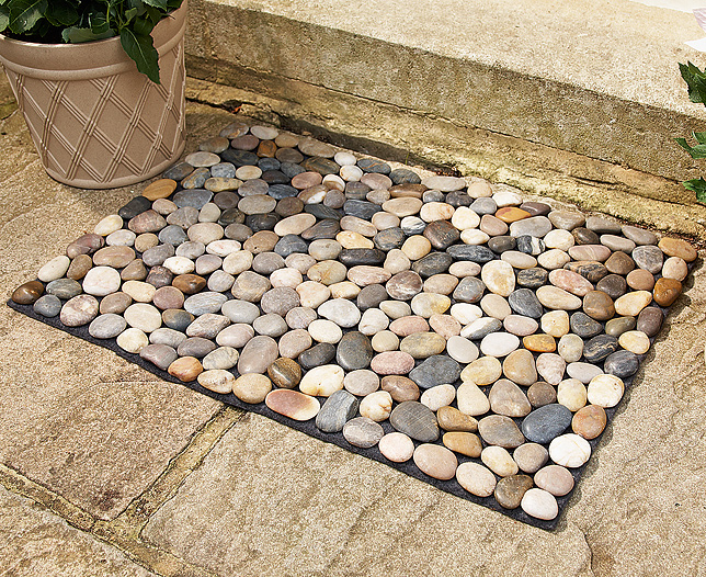 S s river rock mat for River stone mat