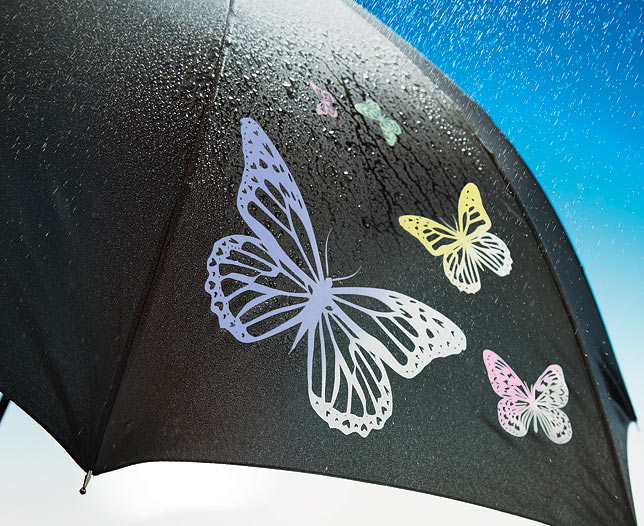 Butterfly Colour Changing Umbrella