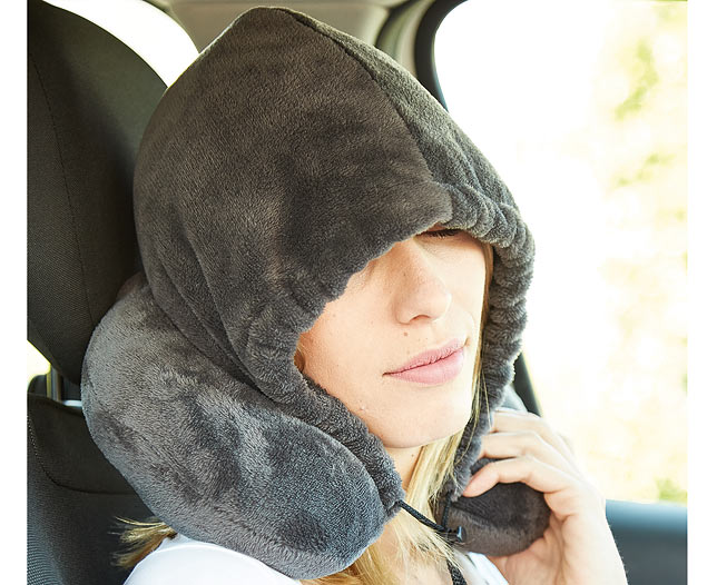 Travel Pillow Hoodie