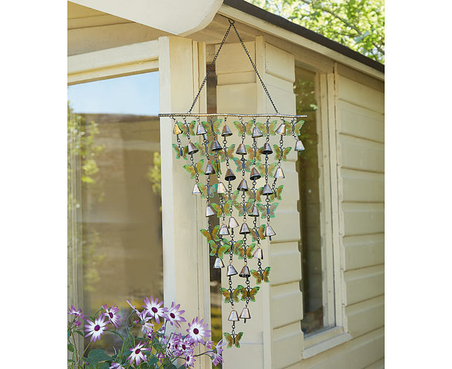 Butterfly Windchime Decoration