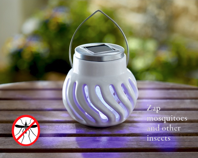 Solar Ceramic Bug Zapper