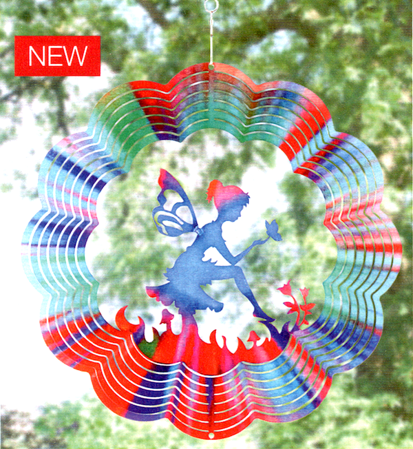 12 Inch Fairy Wind Spinner