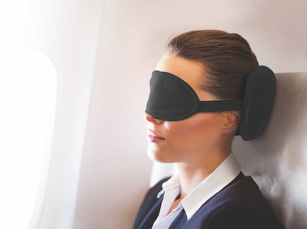 2 in 1 Travel Pillow & Eye Mask
