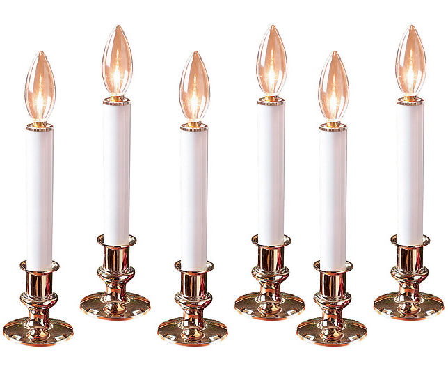 Flame-Free Candles (set of 6)