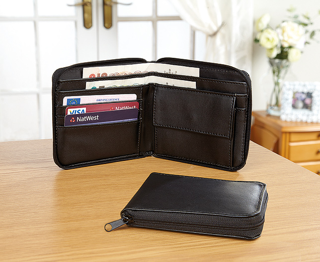 Zip Up Wallet