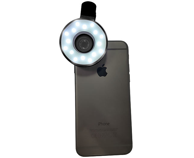 Fisheye Lens with Lights
