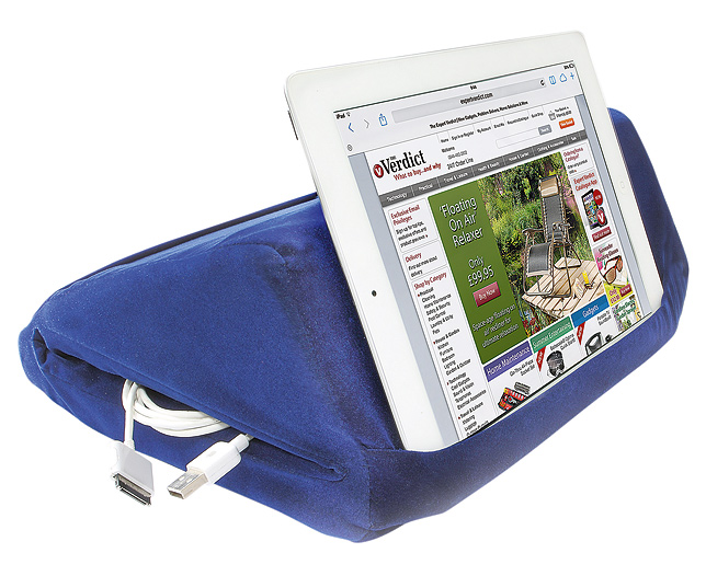 Tablet Pillow with Storage