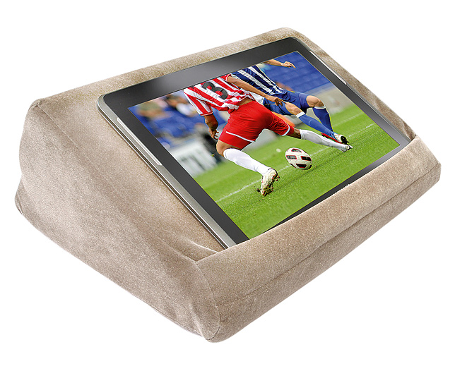 s s tablet pillow with storage