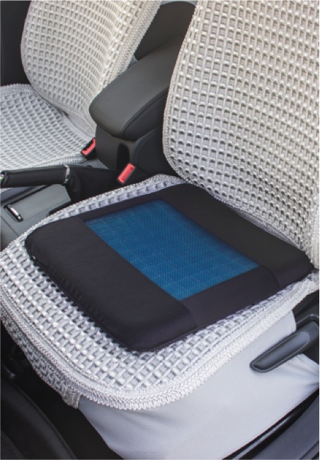 Breathable Seat Cushion with Cooling Gel