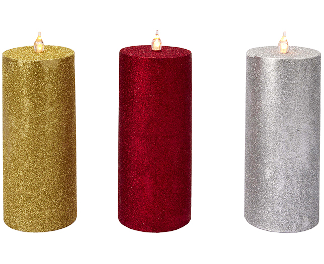 Shimmer Candles (3)