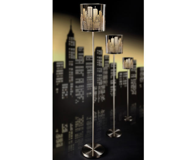 Floor Lamp Skyline Design