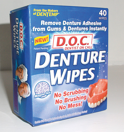 Denture Wipes (40)