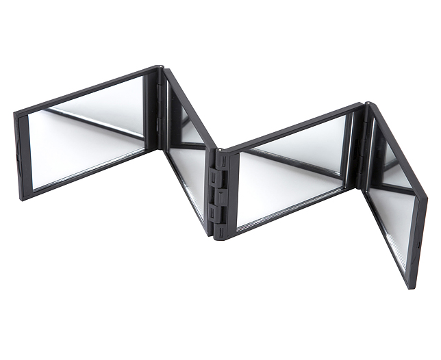 Four Way Folding Mirror