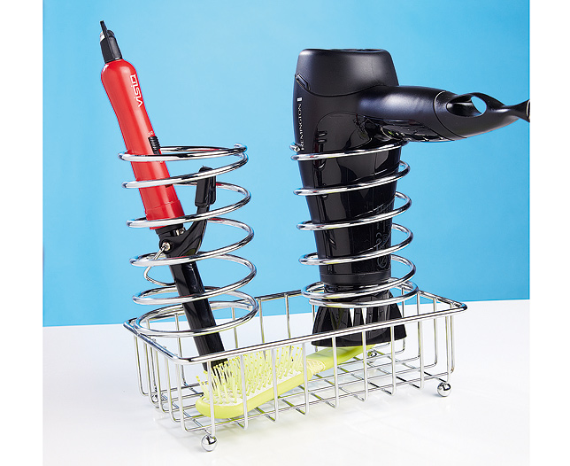 Hair Dryer & Straightener Holder