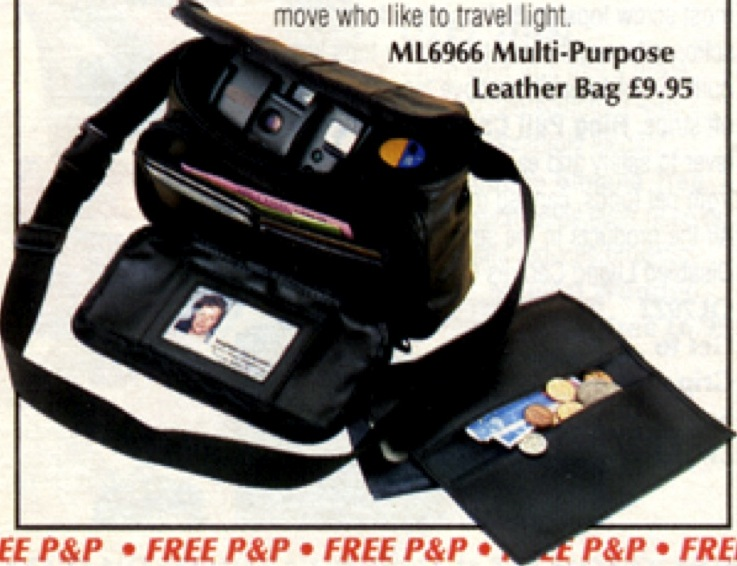 Multi Purpose Leather Bag